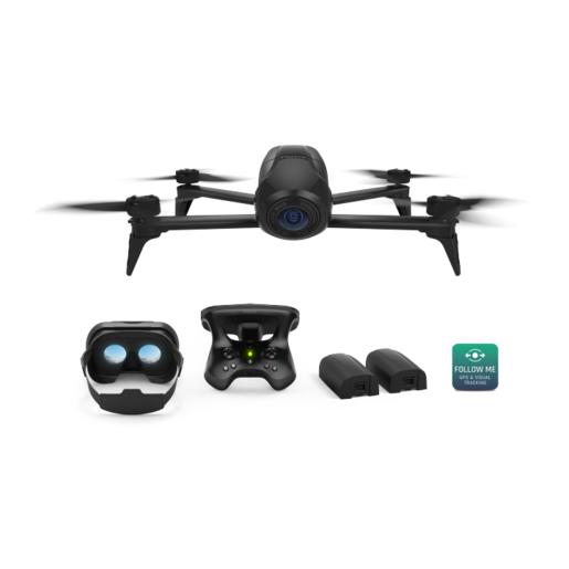 Квадрокоптер Parrot Bebop Drone 2 Power FPV, черный