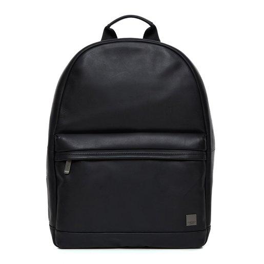 """Рюкзак Knomo Albion для ноутбука до 15"""". Материал кожа натуральная. Цвет черный"""
