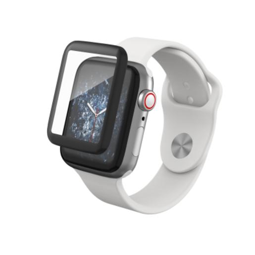 Защитное стекло InvisibleShield Glass Curve Elite на экран для Apple Watch Series 4 (40mm). Стекло изогнутое.