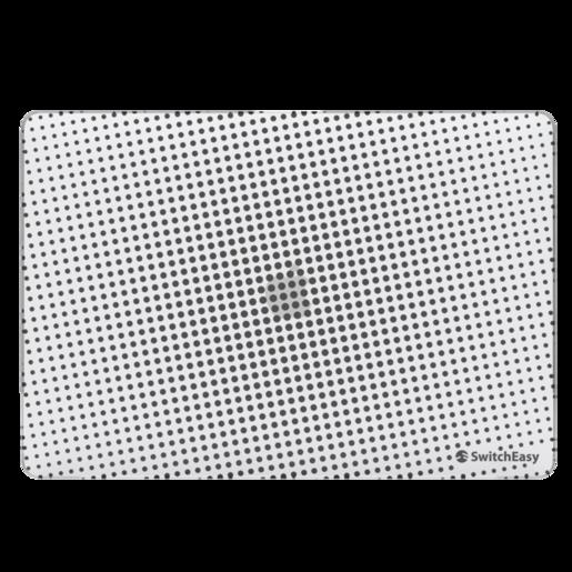 """Защитные накладки SwitchEasy Dots для 2020~2018 (2020, M1/ Intel) MacBook Air 13"""". Дизайн: Ice."""