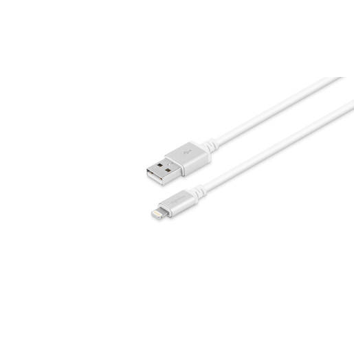 Кабель Moshi USB-А с Lightning коннектером. Длина кабеля: 3 м. Цвет: белый.