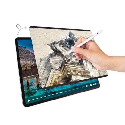 "Защитная плёнка на магнитном креплении SwitchEasy SwitchPaper Magnetic Screen Protector for iPad для 2021-2018 iPad Pro 12.9"" Цвет: Прозрачный GS-109-178-262-65"