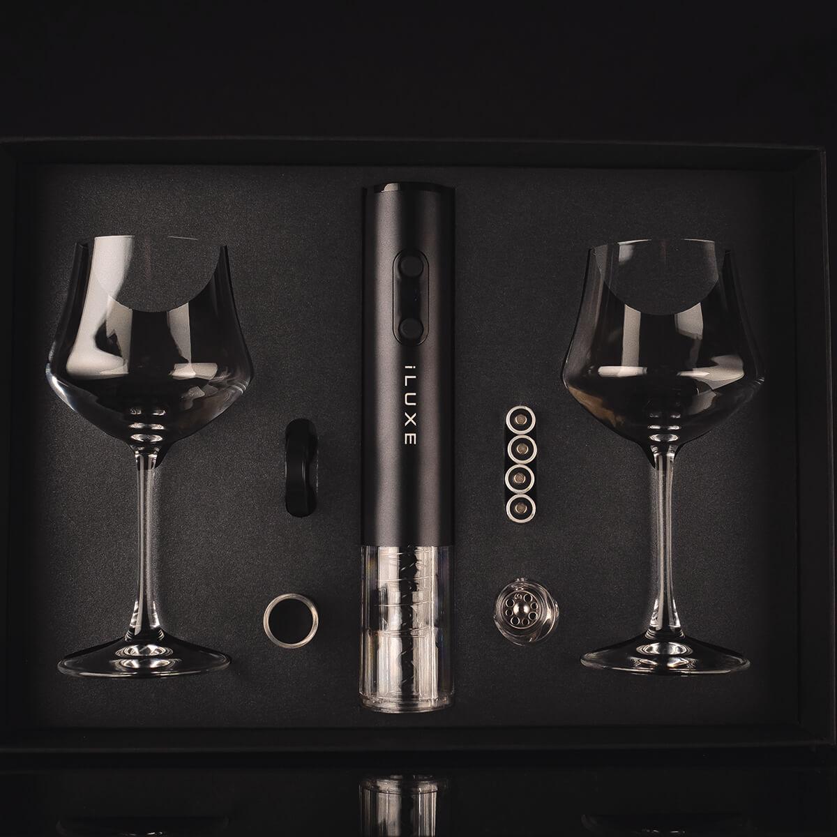 Подарочный набор сомелье iLUXE The Full Elegant