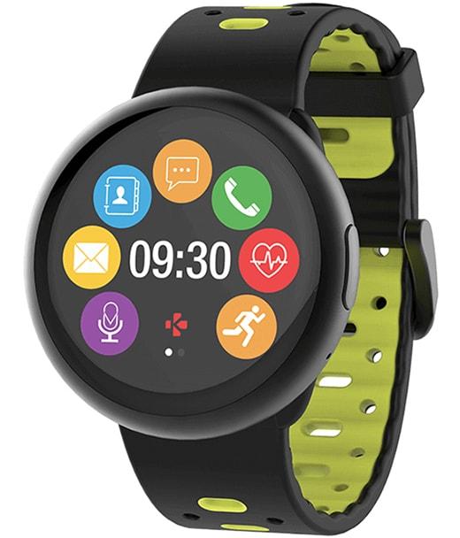 MyKronoz ZeRound 2 HR Premium - Смарт-часы с цветным сенсорным TFT экраном