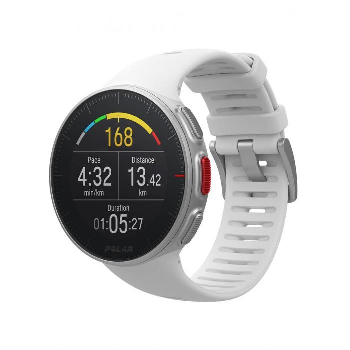 Спортивные часы с пульсометром POLAR VANTAGE V WHI M/L