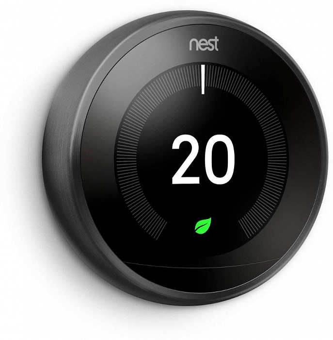 Термостат Nest Learning Thermostat 3.0 (Black)