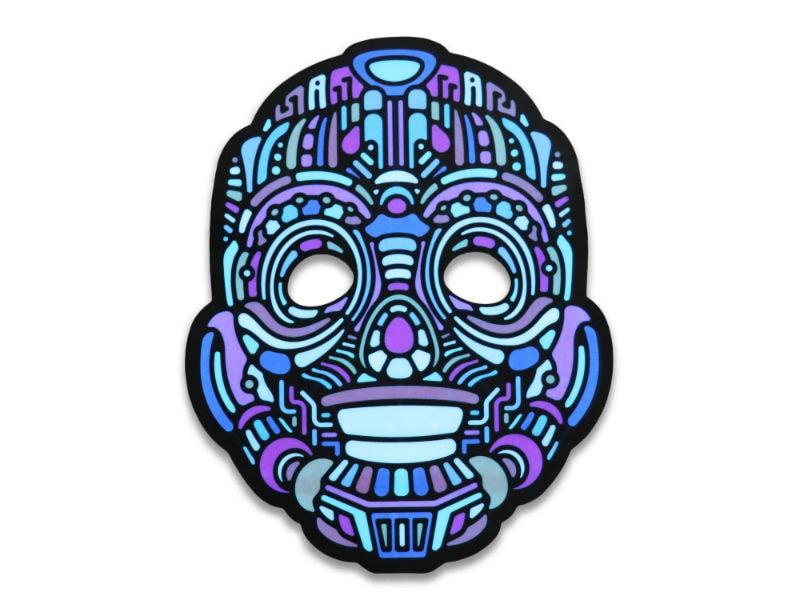 Cветовая маска с датчиком звука GeekMask Robot