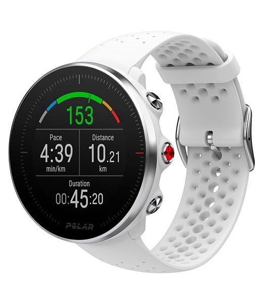 Новые мульти-спортивные GPS-часы с улучшенным измерением пульса Polar Vantage M White (M/L)