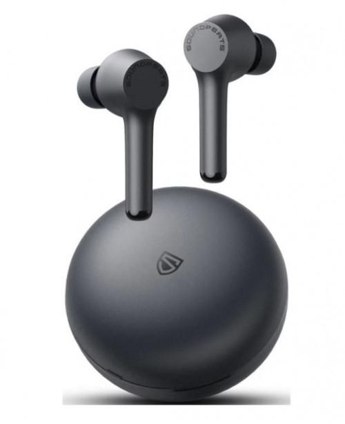 Наушники SoundPEATS TWS Mac JL6973D Bluetooth 5.0, 500мАч,d10мм, IPX7,черный