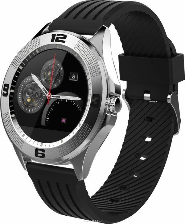 Смарт часы KREZ BLAST, SW06, Black, Silver