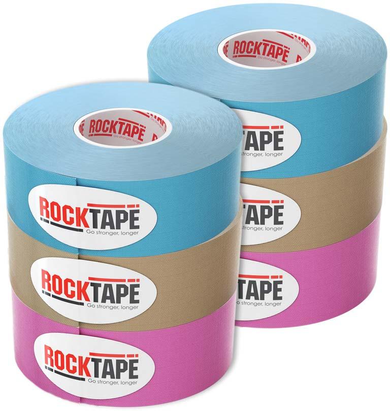Узкие тейпы Rocktape, 2,5см х 5м