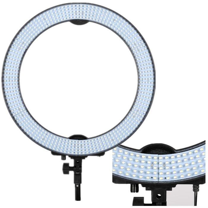Кольцевая лампа OKIRA LED RING RL 18 (49 см) (уценка, после ремонта, отсутствует крепление для телефона)