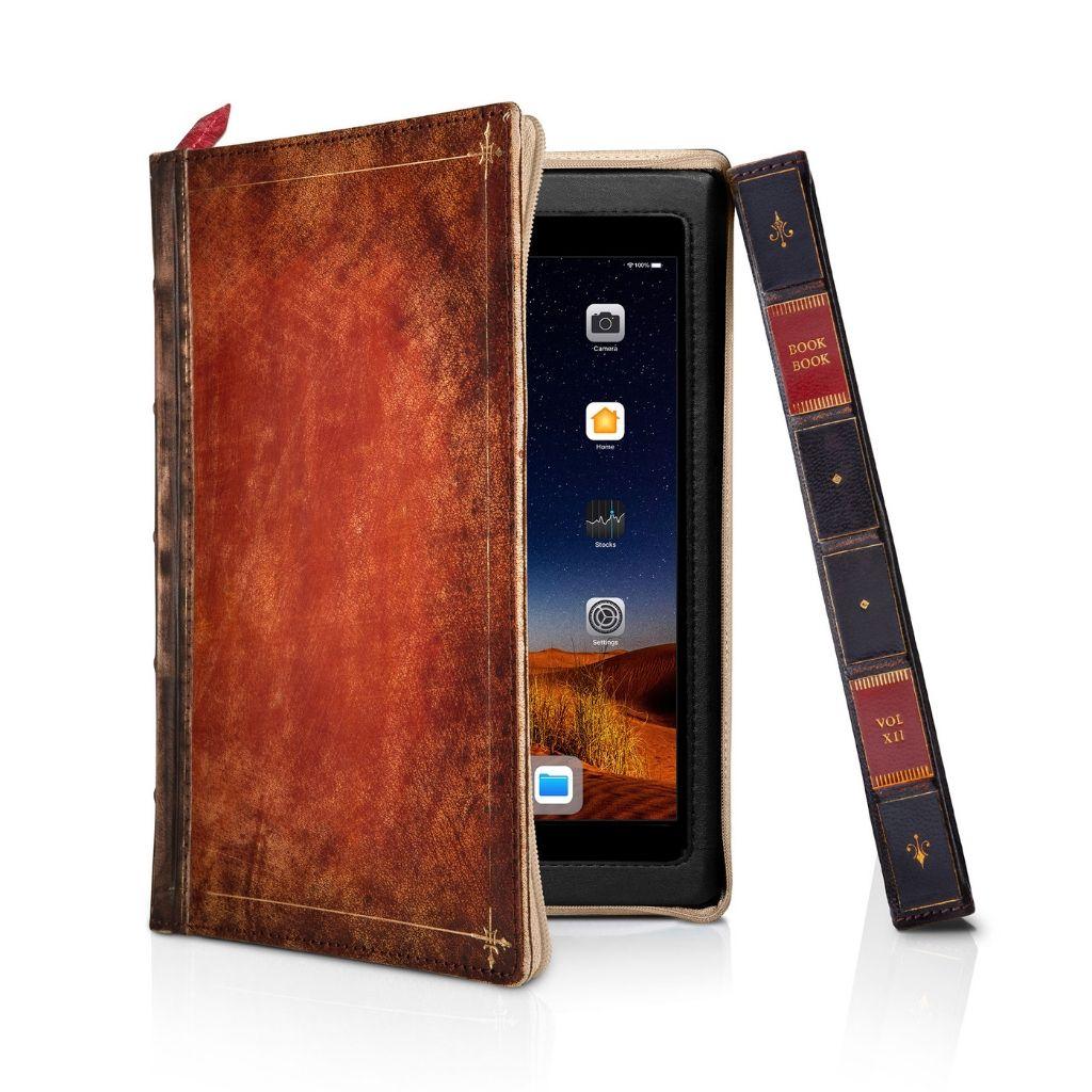 Чехол-книга Twelve South BookBook в твердом переплете для iPad mini 5, материал кожа, цвет: Rutledge.