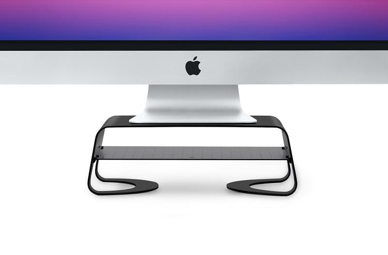 Настольная подставка для iMac и дисплеев Twelve South Curve Riser (black)