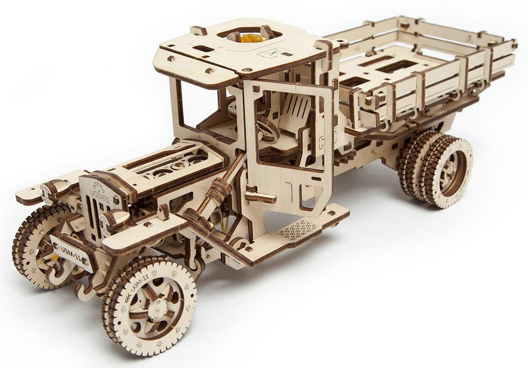 Механический 3D-пазл UGears Грузовик