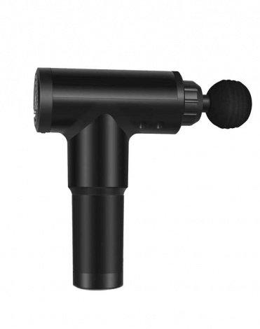 Перкуссионный массажер (массажный пистолет) для тела беспроводной AMG140, Gezatone