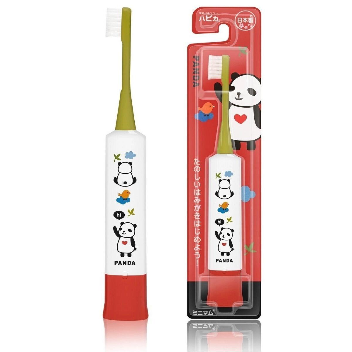 Электрическая зубная щетка Hapica Панда DBK-5 для детей (3-10 лет)