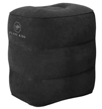 PLANE KIDS - Подушка-кроватка для путешествий (Black)