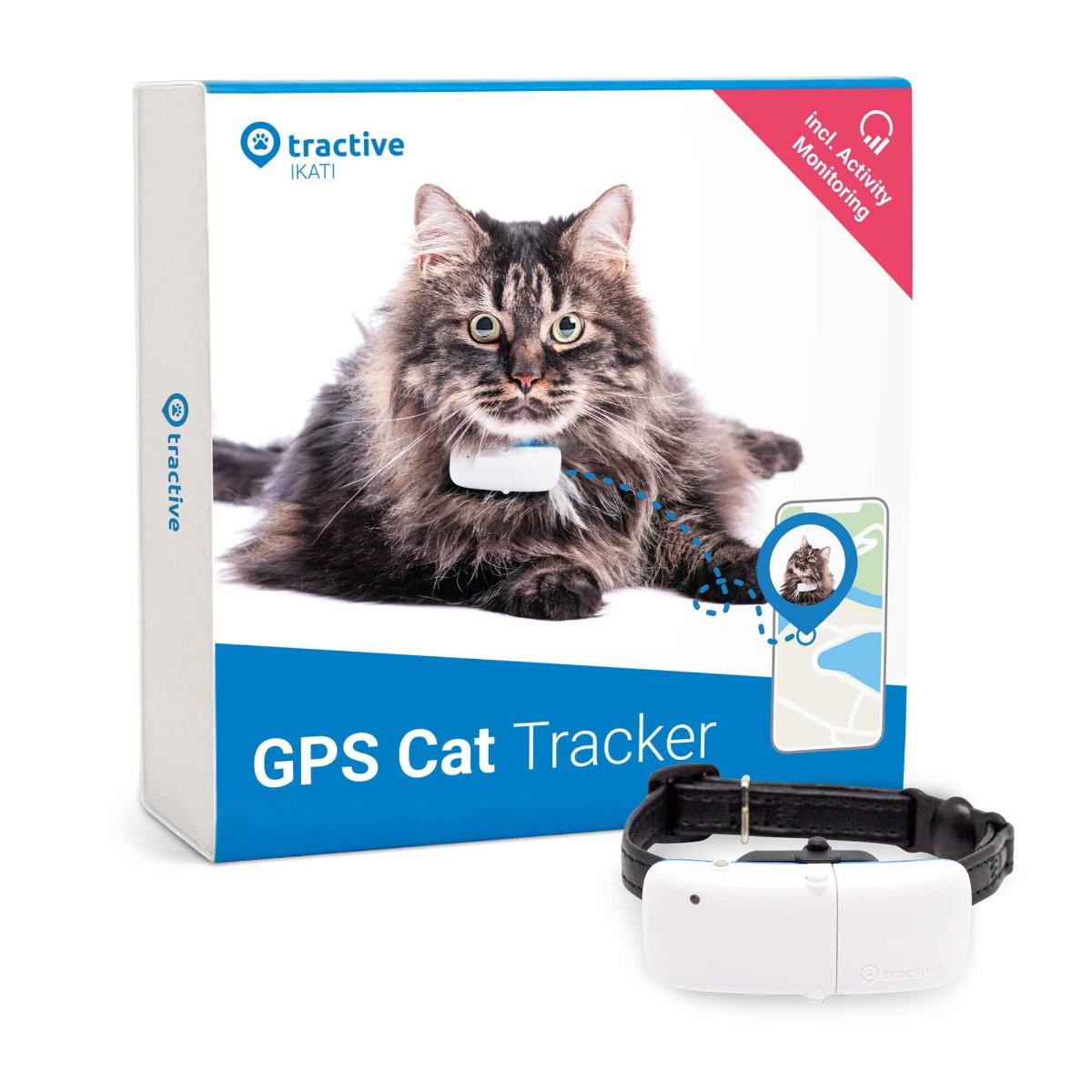 Tractive IKATI - GPS-трекер для кошек (уценка, вскрытая коробка)