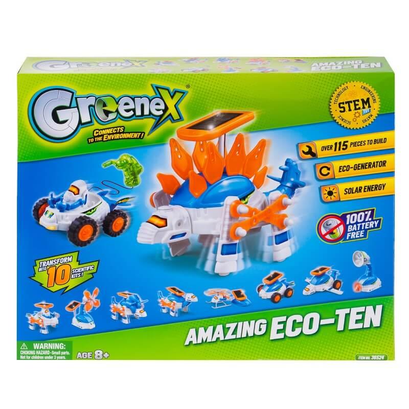 Набор Greenex: Зеленая энергия 3 в 1 (36524: Amazing Toys)