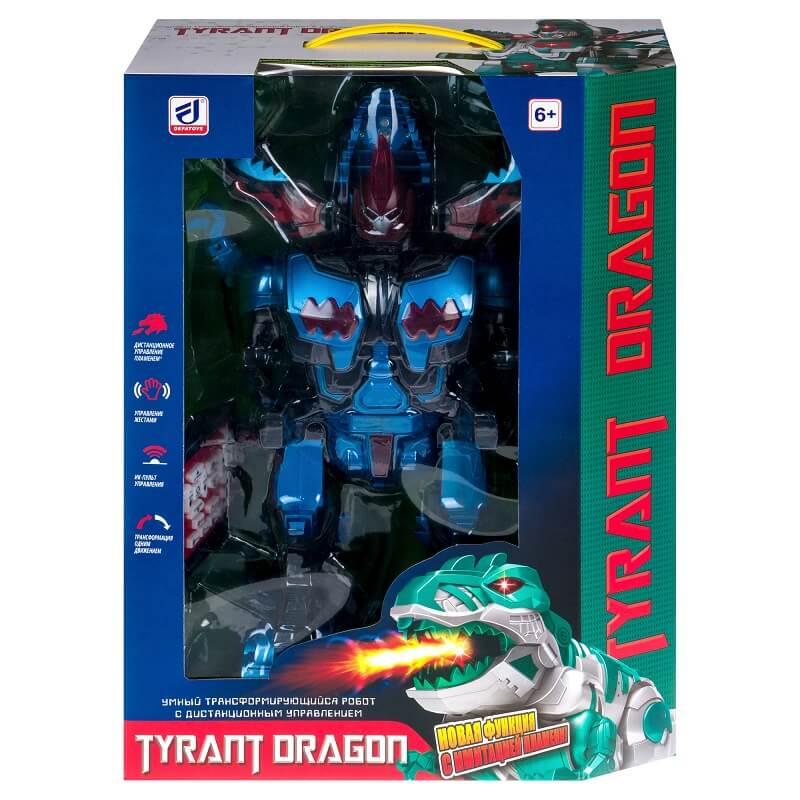 Трансформирующийся робот с пультом ДУ TYRANT DRAGON (6033: DEFA)