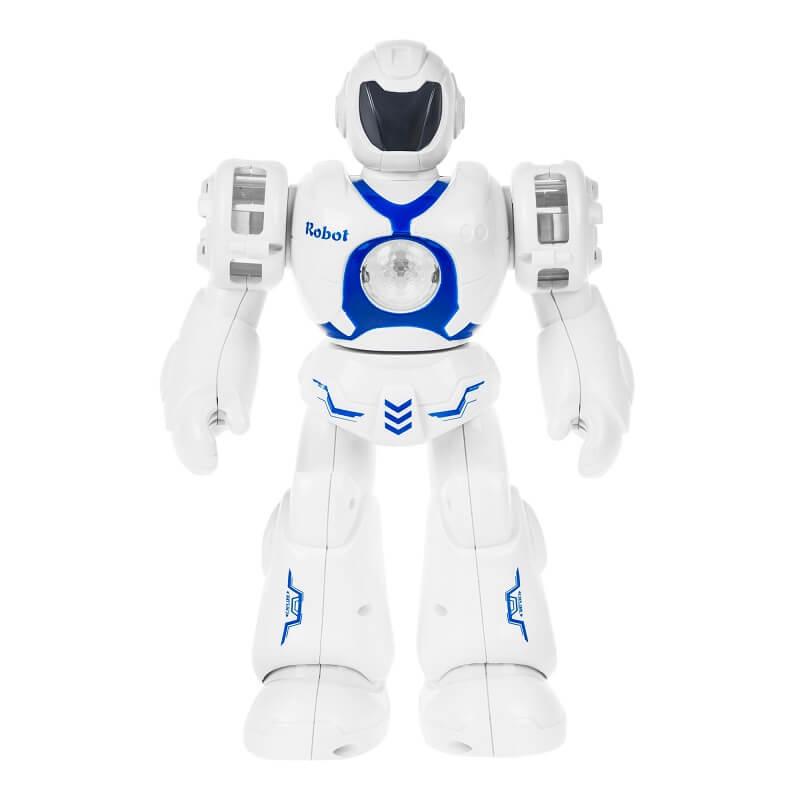 Робот со световыми и звуковыми эффектами YORK, синий (6032-blue: DEFA)