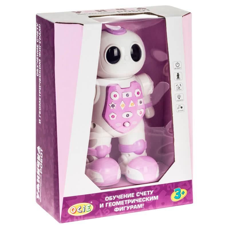 Интерактивный, обучающий робот, розовый (OTC0874719: OCIE)