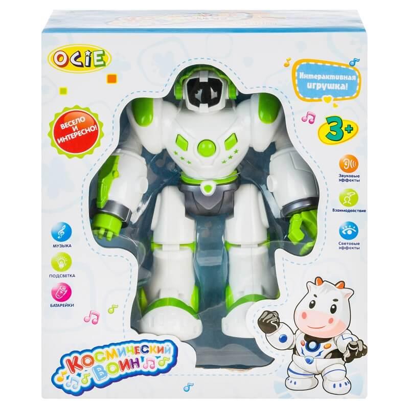 Интерактивный робот OptiBot зеленый (OTE0636461: OCIE)
