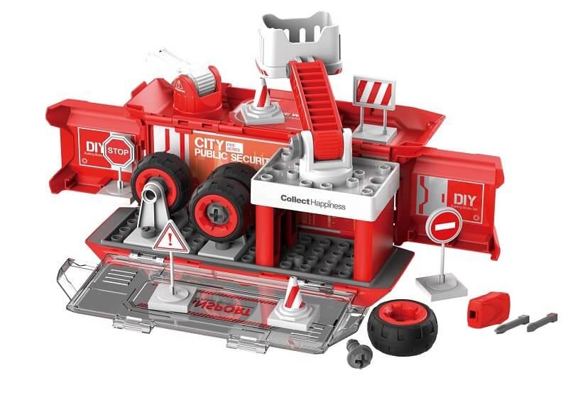 Набор пластмассовых деталей для сборки Игровой станции (красный) (BHX TOYS: CJ-1365741)