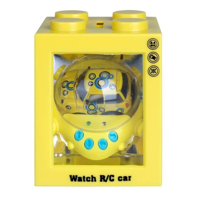 Игрушка на д/у Трансформер, желтая, гиро (Blue Well: ZG-C8034)