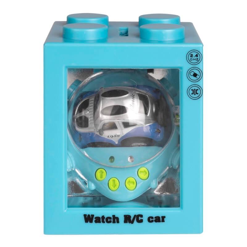 Игрушка на д/у Трансформер, голубая, гиро (Blue Well: ZG-C8034)