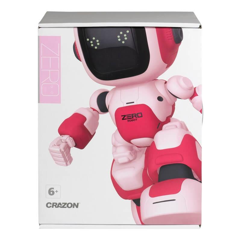 Робот на д/у, интерактив, РУССКИЙ ЯЗЫК, программируемый, розовый (Blue Well: ZG-R8008)
