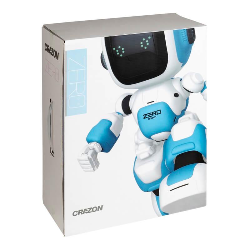 Робот на д/у, интерактив, РУССКИЙ ЯЗЫК, программируемый, голубой (Blue Well: ZG-R8008)