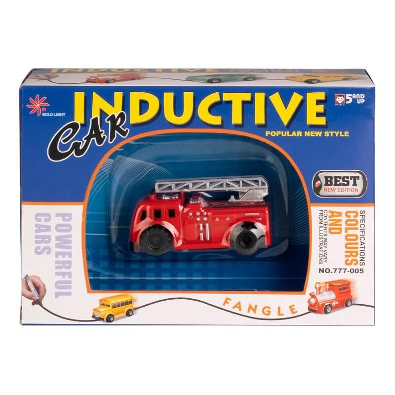 """Игрушка индуктивная Робот """"Пожарная Машина"""" (Blue Well: ZG-T8018-1)"""