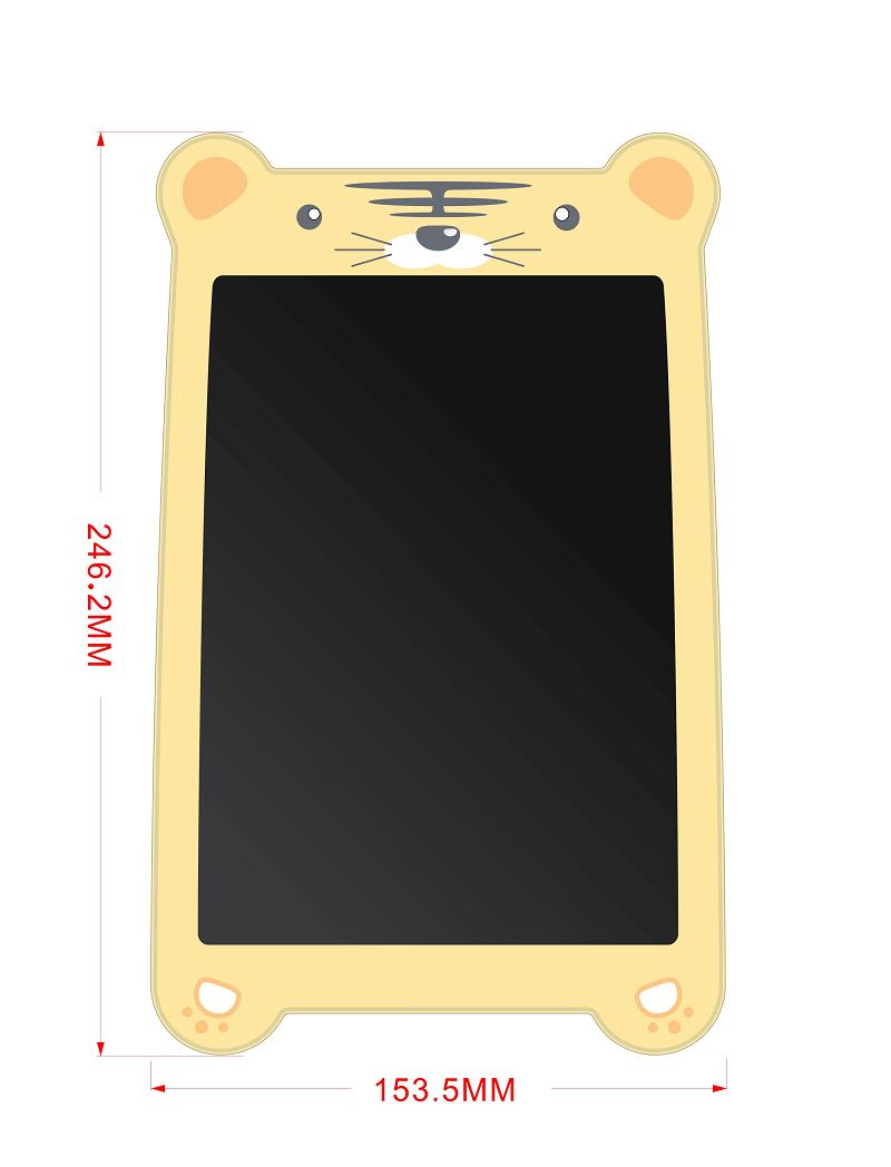 Планшет для рисования color 8,5 (Newsmy: S85 color tiger)