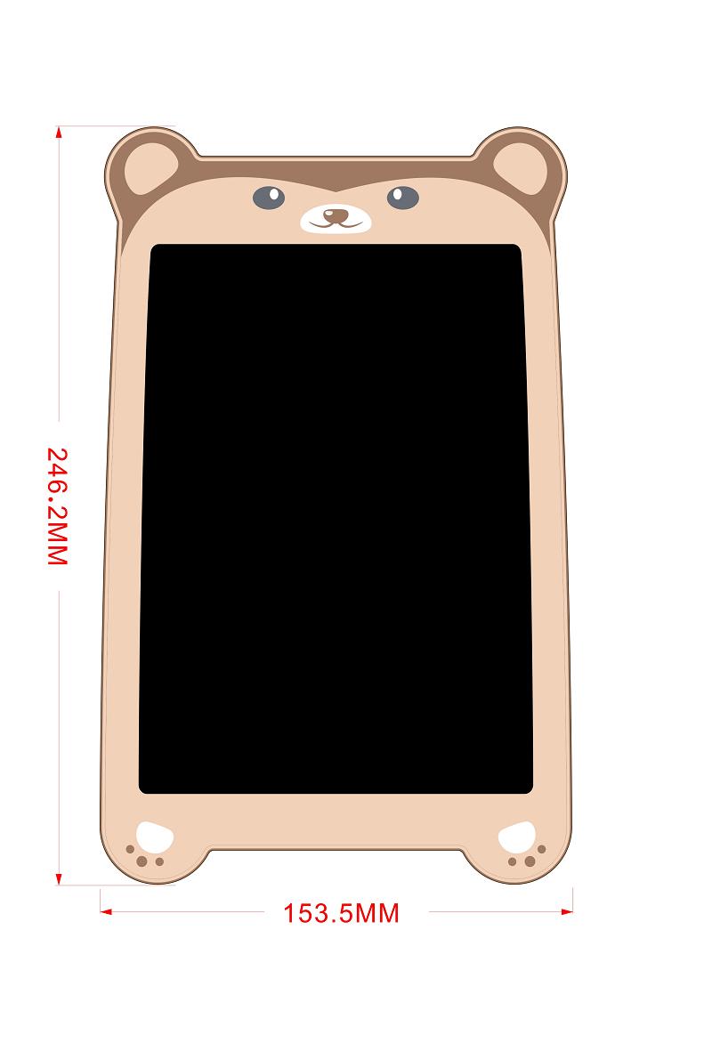 Планшет для рисования color 8,5 (Newsmy: S85 color dog)