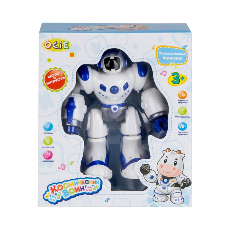 Интерактивный робот OptiBot синий (OTE0636461: OCIE)