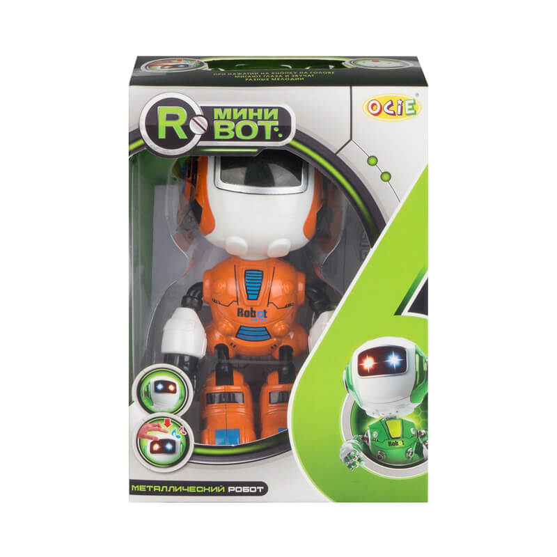 Робот MiniBot оранжевый (OTG0890120: OCIE)