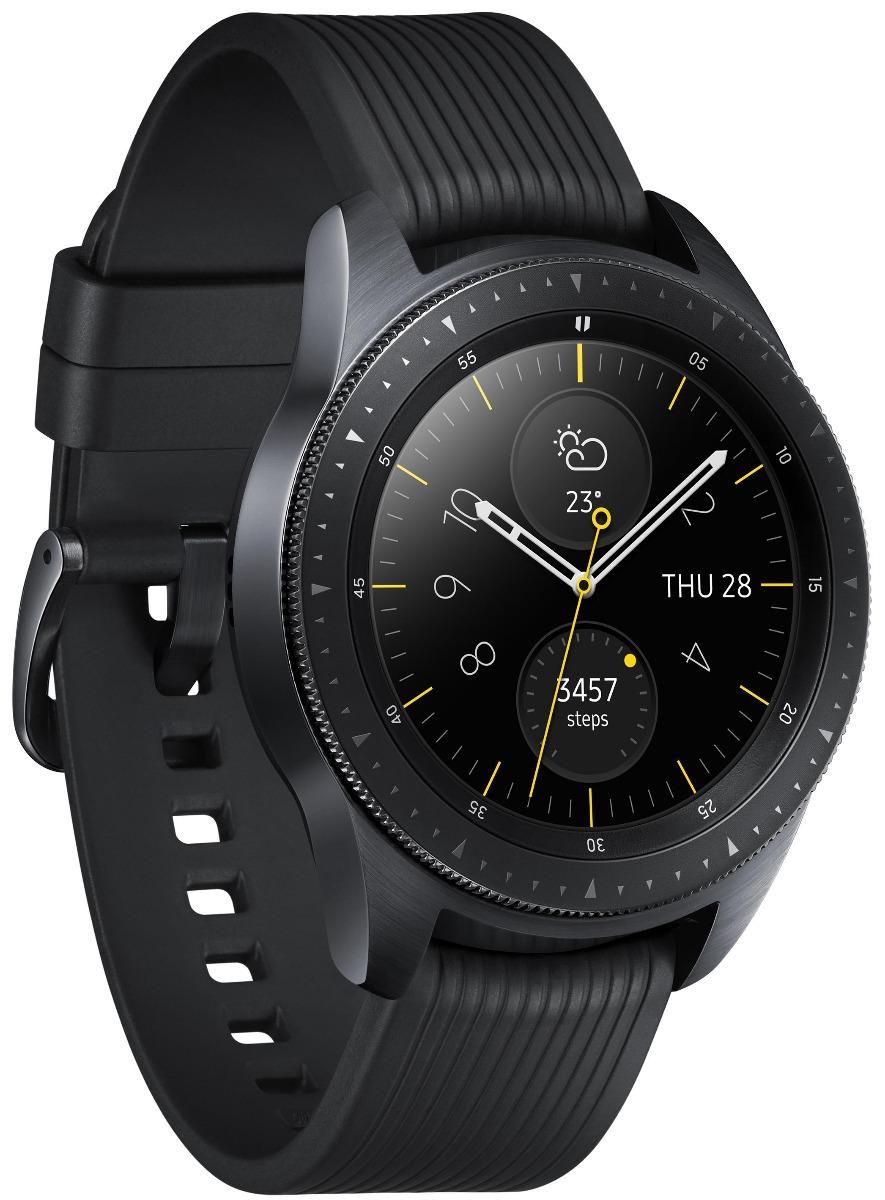 Умные часы Samsung Galaxy Watch 42 mm (SM-R810NZKASER) Глубокий черный