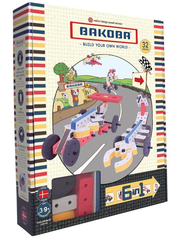Мягкий конструктор BAKOBA Машина (32 детали)