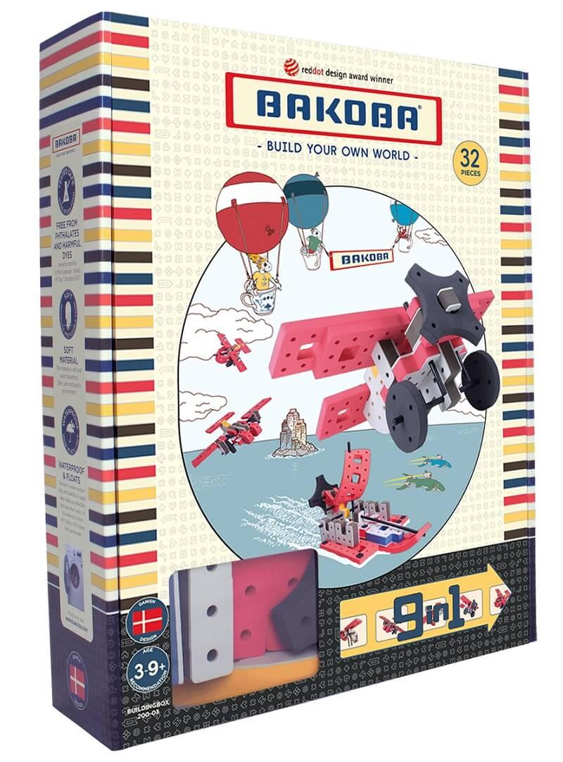 Мягкий конструктор BAKOBA Самолет (32 детали)