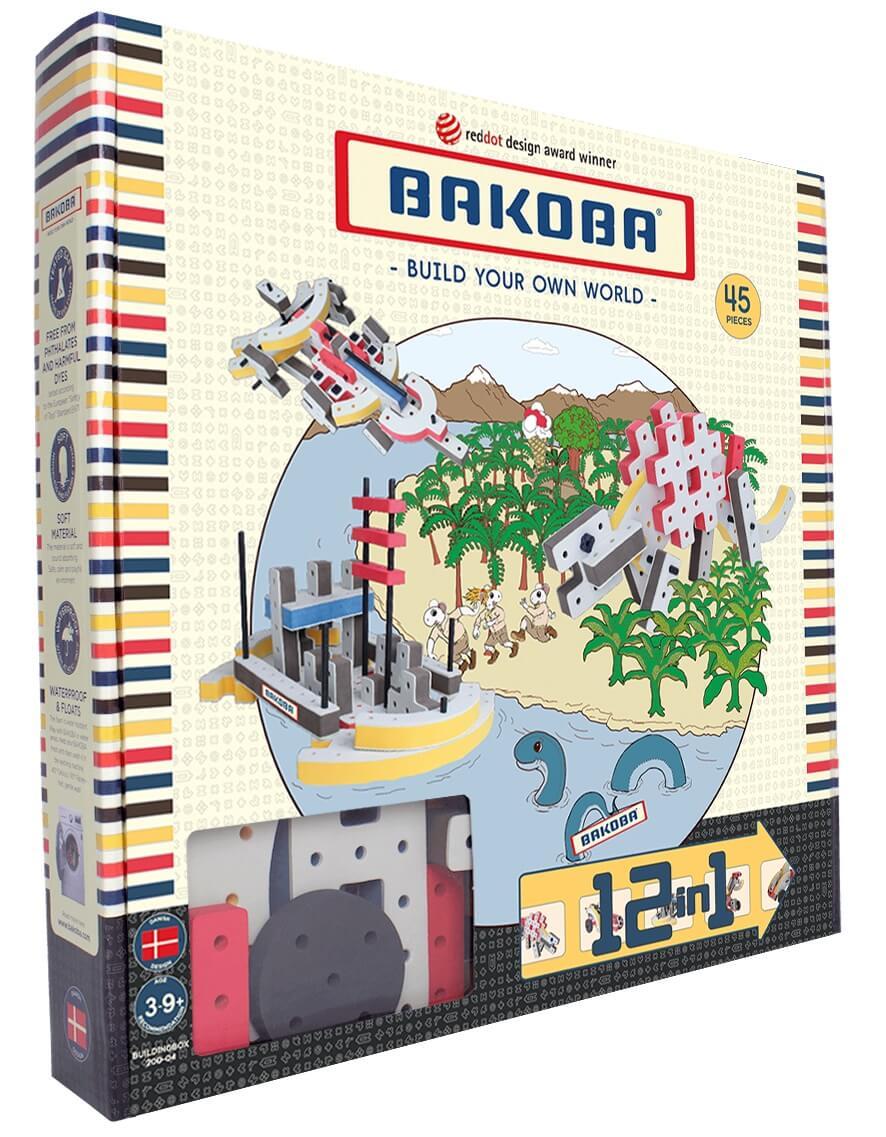 Мягкий конструктор BAKOBA Дино (45 деталей)