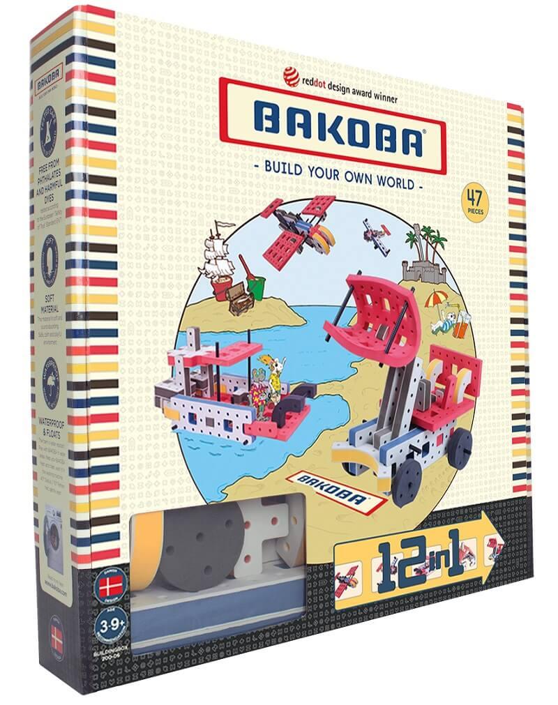 Мягкий конструктор BAKOBA Экскаватор (47 деталей)