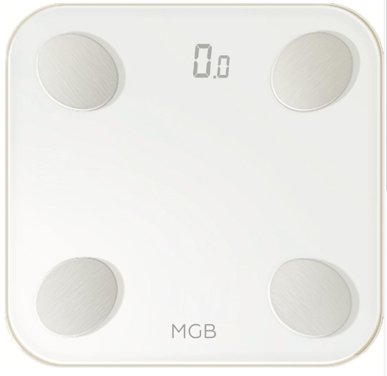 Умные весы MGB Body fat scale Glass Edition-White (уценка, вскрытая коробка)