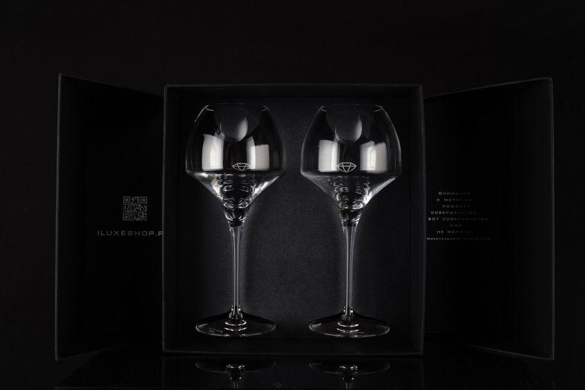 Подарочный набор с бокалами iLUXE Glasses Pro
