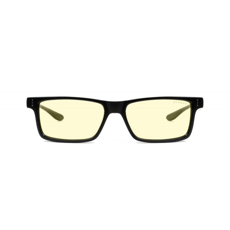 Очки для компьютера GUNNAR Vertex Amber Plano VER-00113, Onyx
