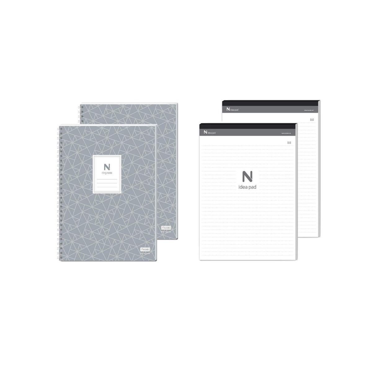 Сет 2 Блокнота Neo N Ring + 2 Блокнота Neo N Idea Pad