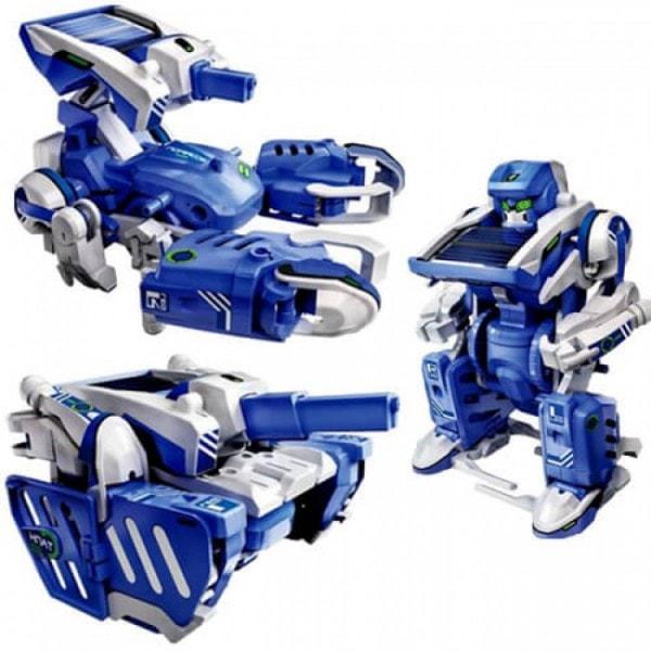 Конструктор Боевой робот 3 в 1 (Робот, Танк, Скорпион)