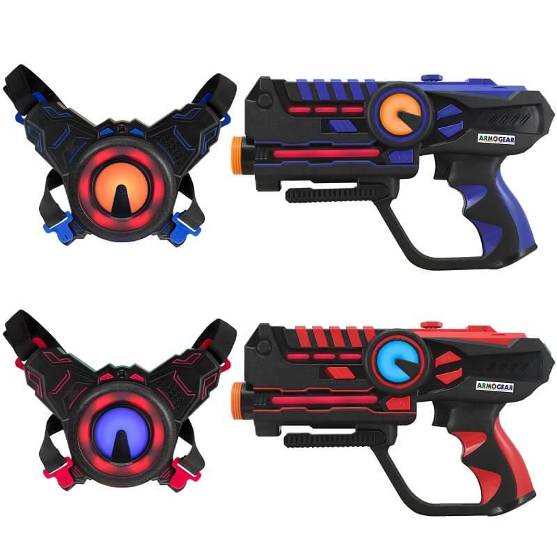 Игровой набор для двух игроков Лазертаг ArmoGear