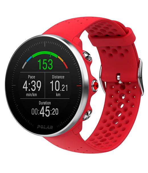 Новые мульти-спортивные GPS-часы с улучшенным измерением пульса Polar Vantage M Red (M/L)